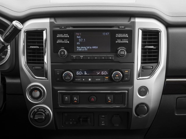 2017 Nissan Titan XD Prices and Values Regular Cab S 2WD stereo system