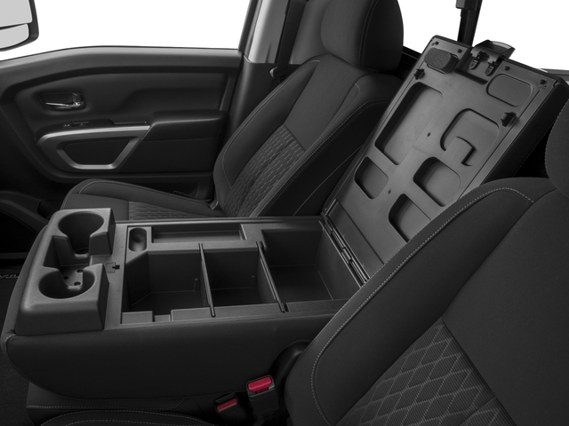 2017 Nissan Titan XD Prices and Values Regular Cab S 2WD center storage console