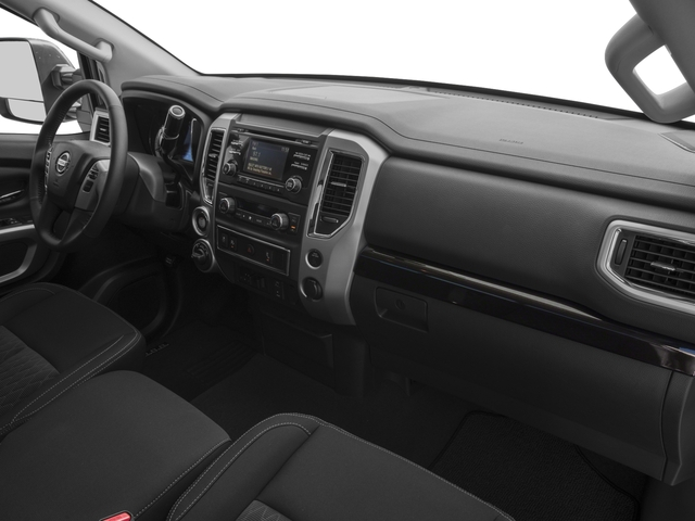 2017 Nissan Titan XD Prices and Values Regular Cab S 2WD passenger's dashboard