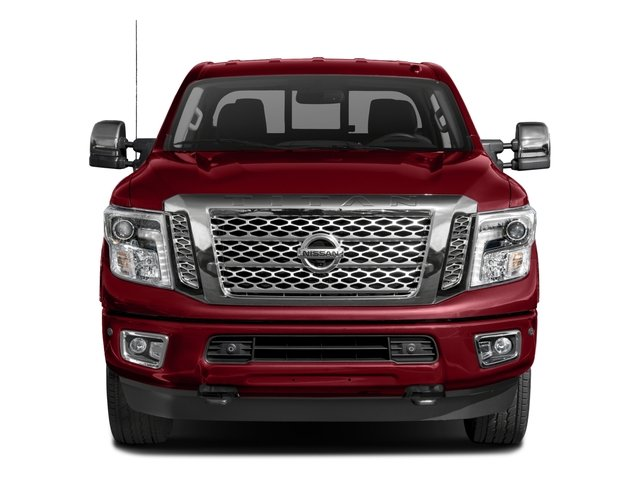 2017 Nissan Titan XD Prices and Values Crew Cab Platinum Reserve 4WD front view