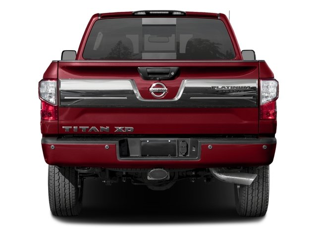 2017 Nissan Titan XD Prices and Values Crew Cab Platinum Reserve 2WD rear view