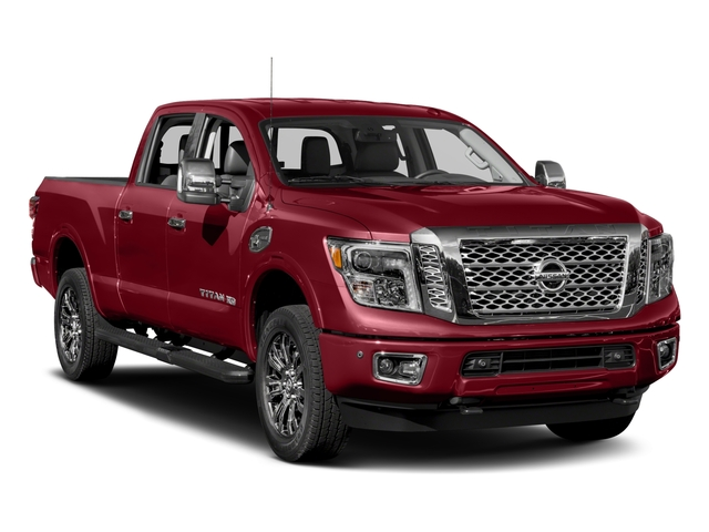 2017 Nissan Titan XD Prices and Values Crew Cab Platinum Reserve 4WD side front view