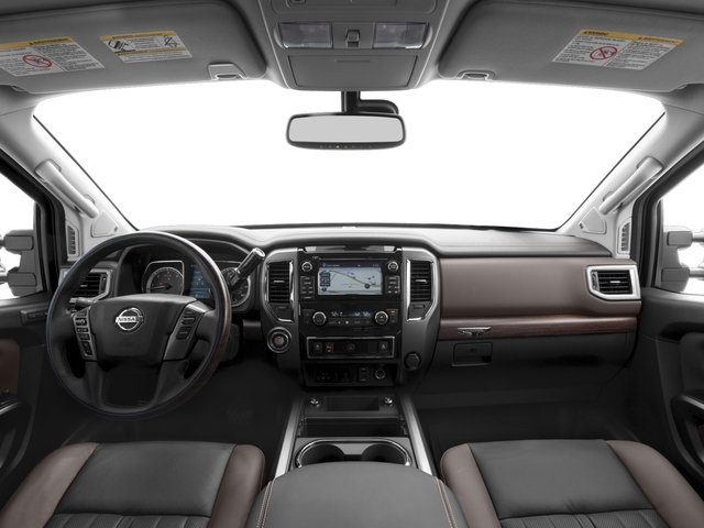 2017 Nissan Titan XD Prices and Values Crew Cab Platinum Reserve 2WD full dashboard