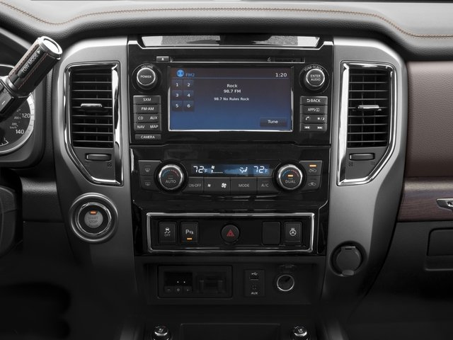2017 Nissan Titan XD Prices and Values Crew Cab Platinum Reserve 2WD stereo system