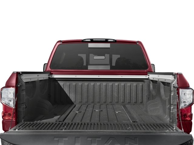 2017 Nissan Titan XD Prices and Values Crew Cab Platinum Reserve 4WD open trunk