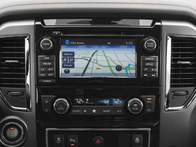 2017 Nissan Titan XD Prices and Values Crew Cab Platinum Reserve 2WD navigation system