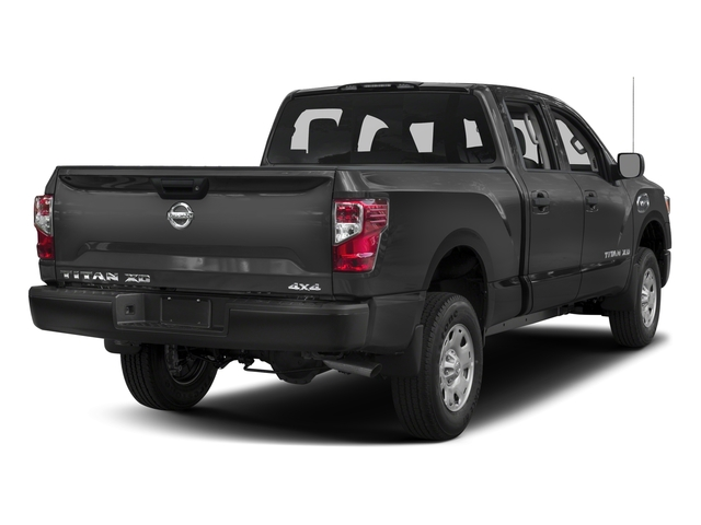 2017 Nissan Titan XD Prices and Values Crew Cab S 4WD side rear view