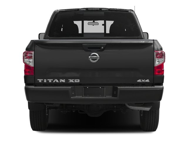 2017 Nissan Titan XD Prices and Values Crew Cab S 4WD rear view