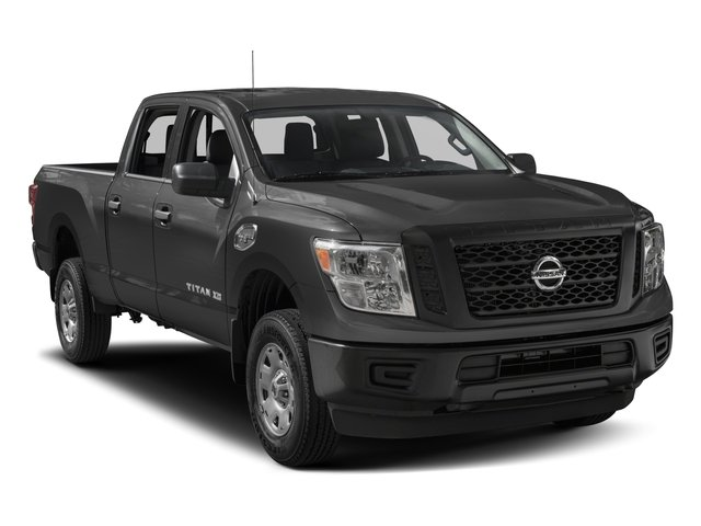 2017 Nissan Titan XD Prices and Values Crew Cab S 4WD side front view