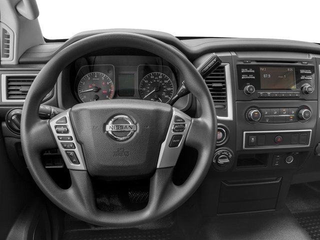 2017 Nissan Titan XD Prices and Values Crew Cab S 4WD driver's dashboard