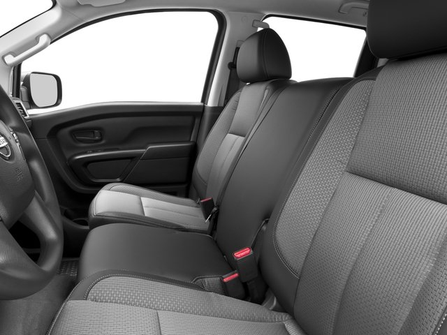 2017 Nissan Titan XD Prices and Values Crew Cab S 4WD front seat interior