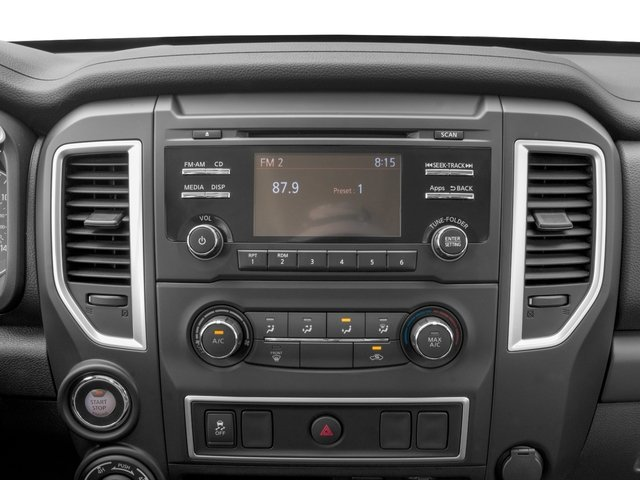 2017 Nissan Titan XD Prices and Values Crew Cab S 4WD stereo system