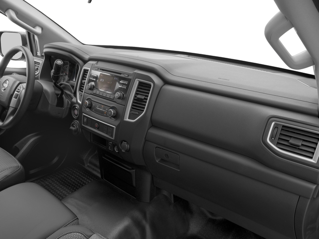 2017 Nissan Titan XD Prices and Values Crew Cab S 4WD passenger's dashboard