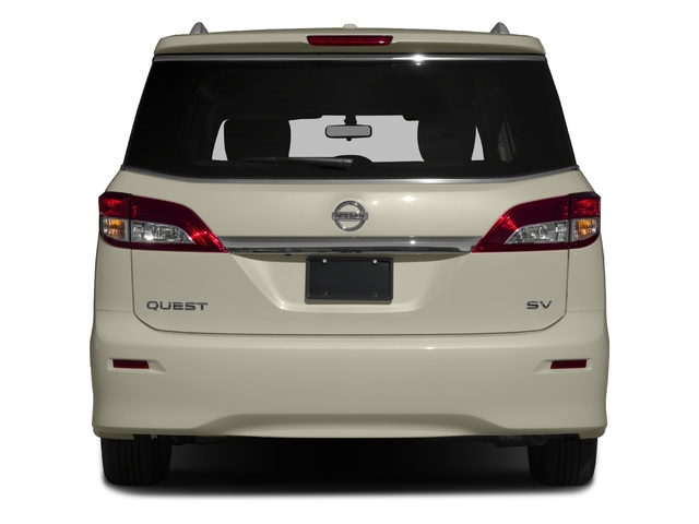 2017 Nissan Quest Prices and Values Wagon 5D S V6 rear view