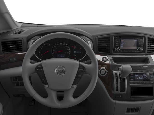 2017 Nissan Quest Prices and Values Wagon 5D S V6 driver's dashboard