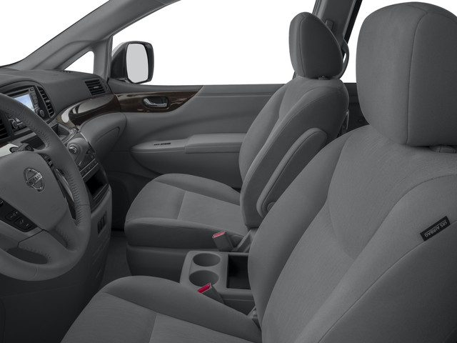 2017 Nissan Quest Prices and Values Wagon 5D S V6 front seat interior