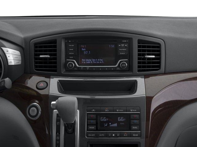 2017 Nissan Quest Prices and Values Wagon 5D S V6 stereo system