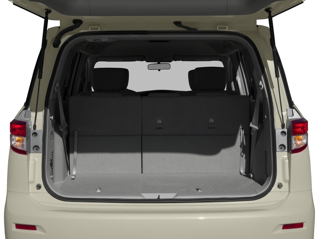 2017 Nissan Quest Prices and Values Wagon 5D S V6 open trunk