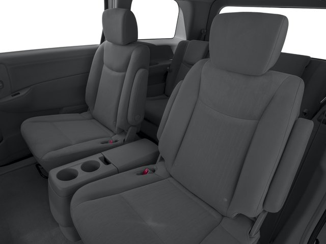 2017 Nissan Quest Prices and Values Wagon 5D S V6 backseat interior