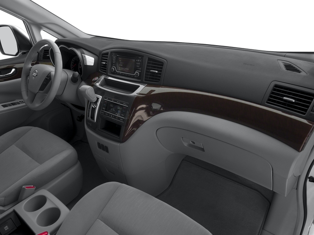 2017 Nissan Quest Prices and Values Wagon 5D S V6 passenger's dashboard