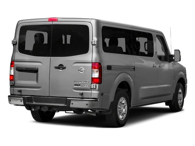 2017 Nissan NV Passenger Prices and Values Passenger Van S side rear view