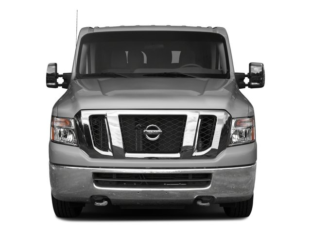 2017 Nissan NV Passenger Prices and Values Passenger Van S front view