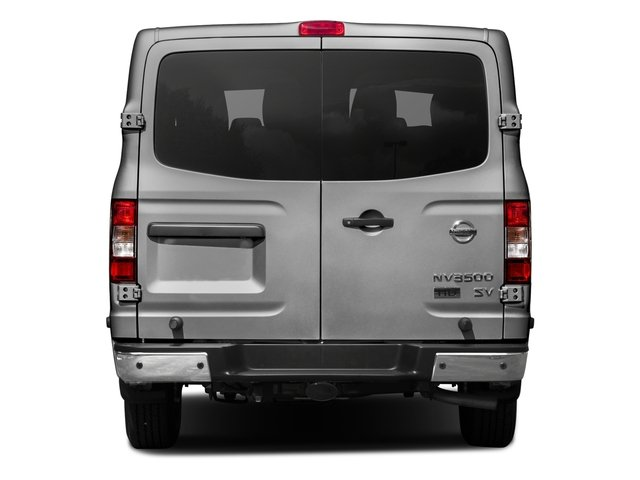 2017 Nissan NV Passenger Prices and Values Passenger Van S rear view