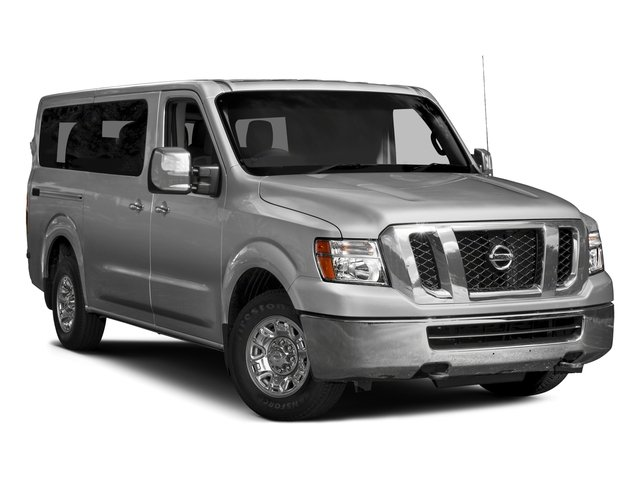2017 Nissan NV Passenger Prices and Values Passenger Van S side front view