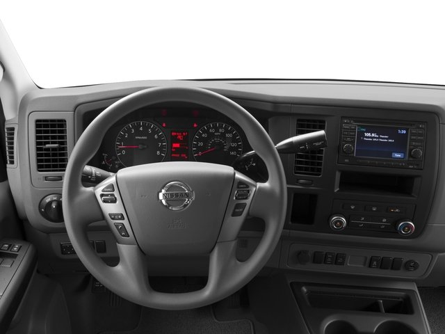 2017 Nissan NV Passenger Prices and Values Passenger Van S driver's dashboard