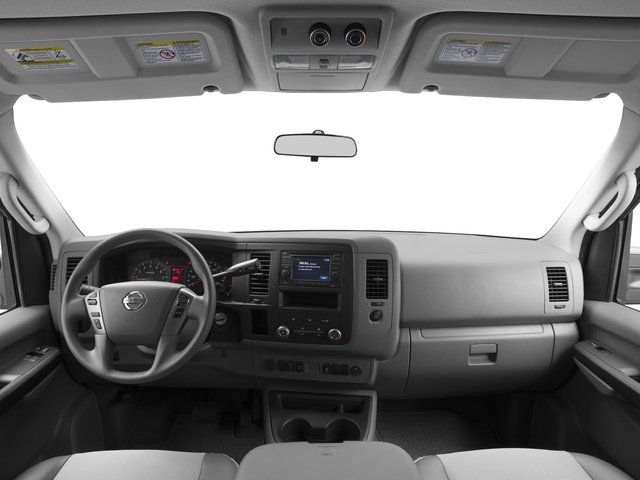 2017 Nissan NV Passenger Prices and Values Passenger Van S full dashboard