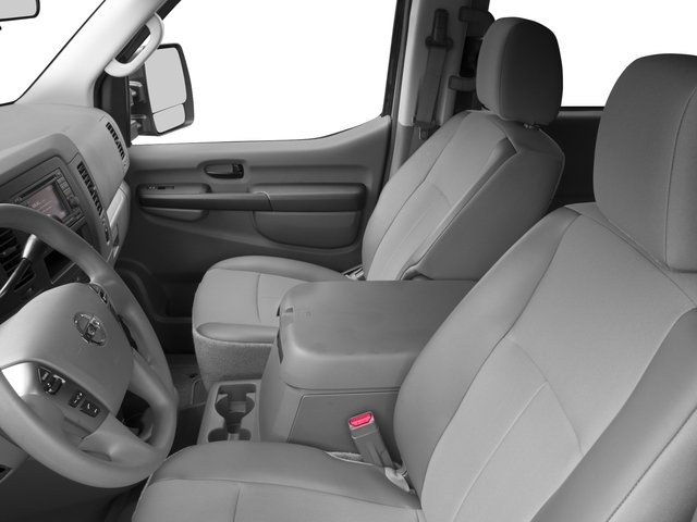 2017 Nissan NV Passenger Prices and Values Passenger Van S front seat interior