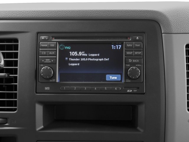 2017 Nissan NV Passenger Prices and Values Passenger Van S stereo system