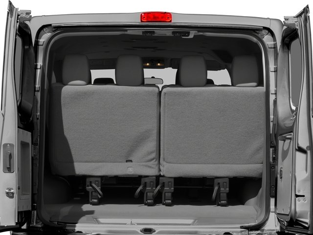 2017 Nissan NV Passenger Prices and Values Passenger Van S open trunk