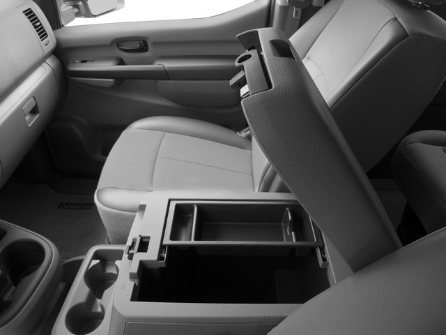2017 Nissan NV Passenger Prices and Values Passenger Van S center storage console