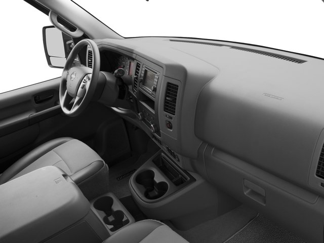 2017 Nissan NV Passenger Prices and Values Passenger Van S passenger's dashboard