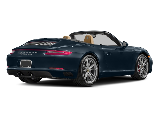 2017 Porsche 911 Pictures 911 Carrera 4S Cabriolet photos side rear view