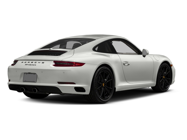 2017 Porsche 911 Base Price Carrera Coupe Pricing side rear view