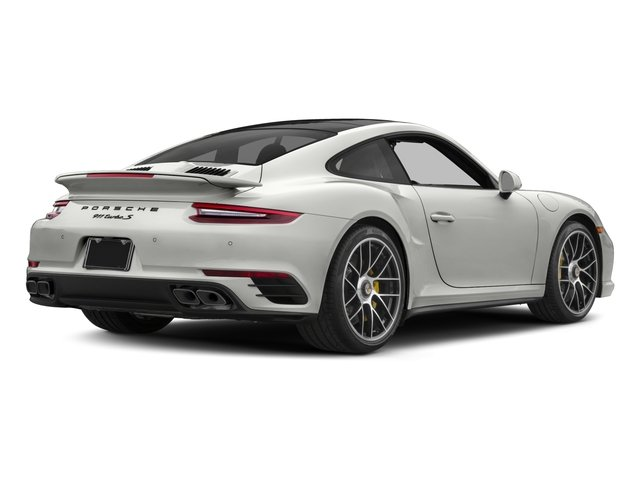 2017 Porsche 911 Base Price Turbo S Coupe Pricing side rear view