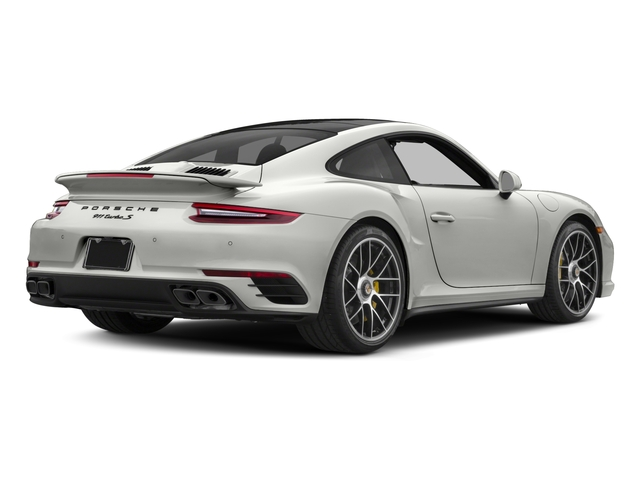 2017 Porsche 911 Pictures 911 Turbo S Coupe photos side rear view