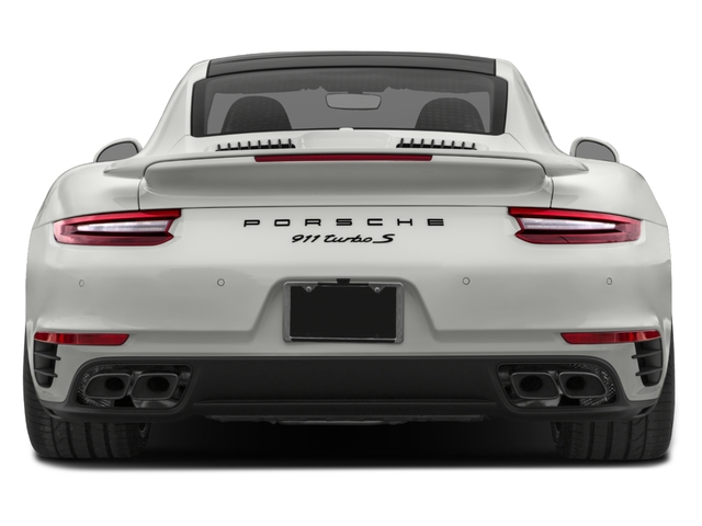2017 Porsche 911 Base Price Turbo S Coupe Pricing rear view