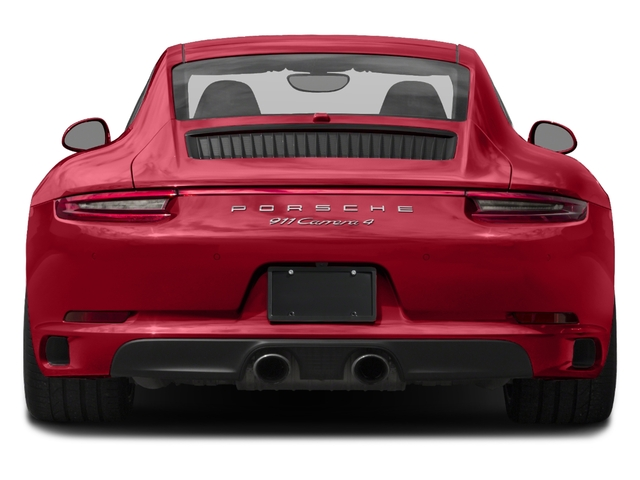 2017 Porsche 911 Pictures 911 Carrera 4 Coupe photos rear view