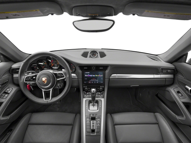 2017 Porsche 911 Pictures 911 Carrera 4 Coupe photos full dashboard