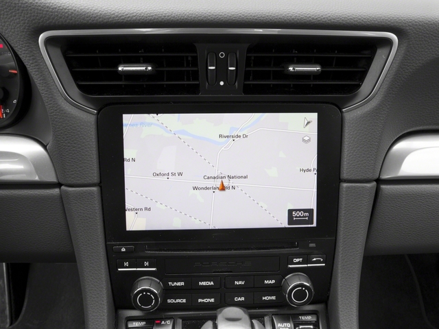 2017 Porsche 911 Pictures 911 Carrera 4 Coupe photos navigation system