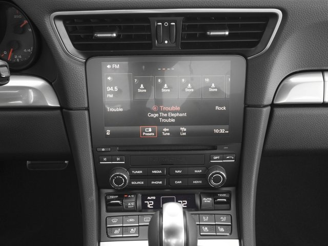 2017 Porsche 911 Pictures 911 Carrera 4S Coupe photos stereo system