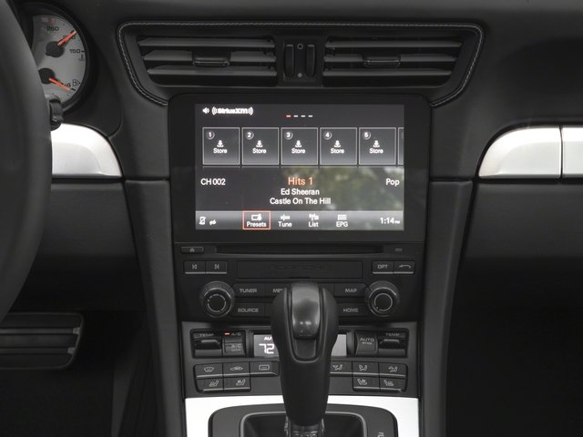2017 Porsche 911 Pictures 911 Turbo Cabriolet photos stereo system