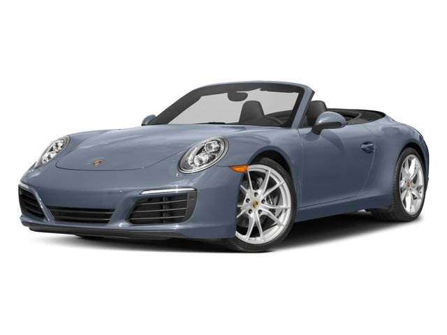 2017 Porsche 911 Base Price Carrera Cabriolet Pricing side front view