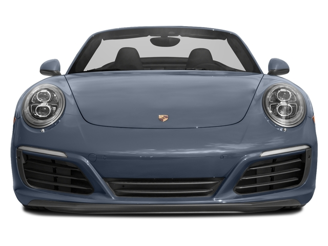 2017 Porsche 911 Base Price Carrera Cabriolet Pricing front view