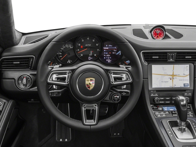 2017 Porsche 911 Pictures 911 Carrera GTS Coupe photos driver's dashboard