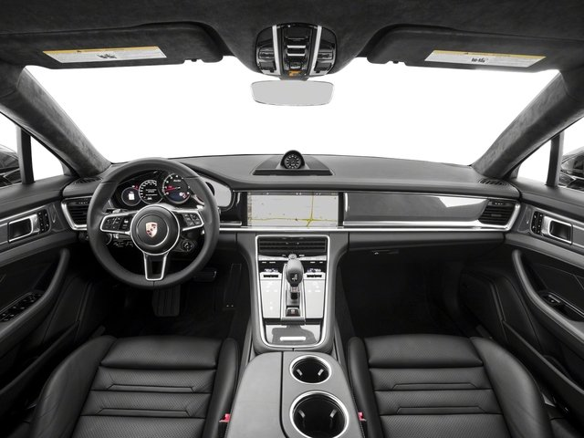 2017 Porsche Panamera Pictures Panamera Turbo Executive AWD photos full dashboard