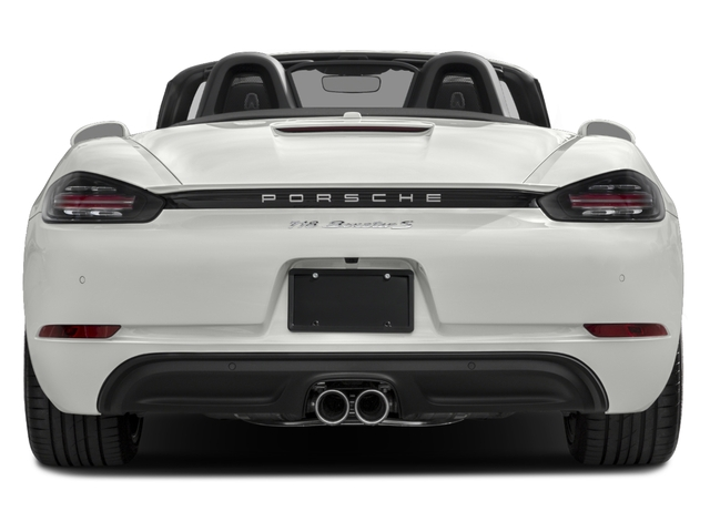 2017 Porsche 718 Boxster Pictures 718 Boxster Roadster 2D S H4 Turbo photos rear view